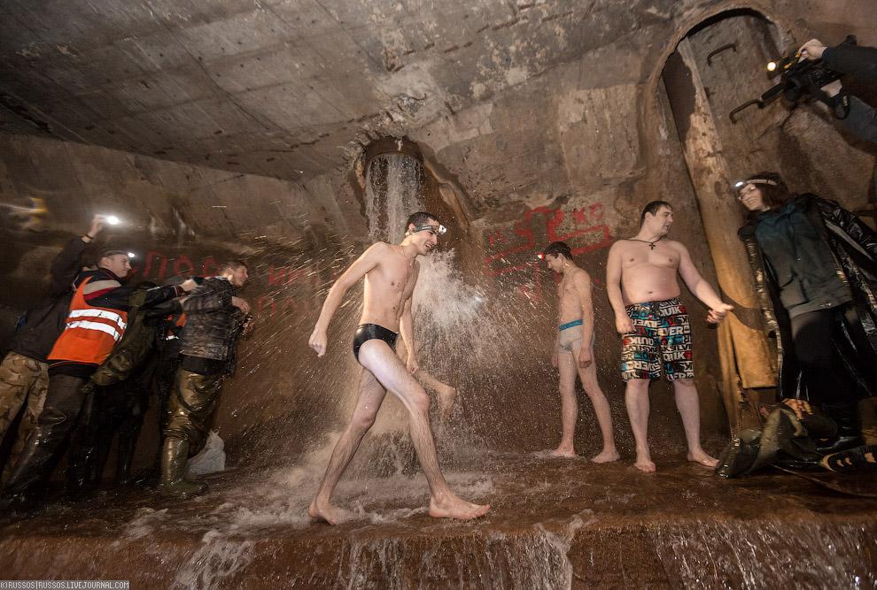 Крещенские купания в Столбе Смерти Путешествия,фото