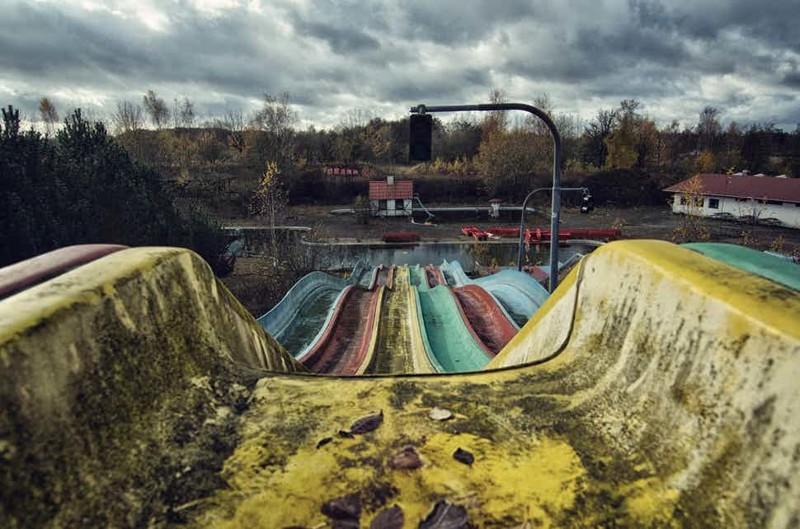 Заброшенный аквапарк страшные места, страшные места на земле, страшные места на земле фото