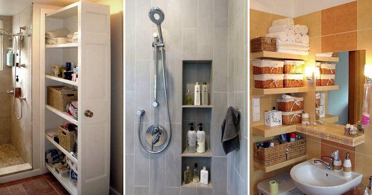 Идеи, которые можно использовать, когда места в ванной не хватает 4