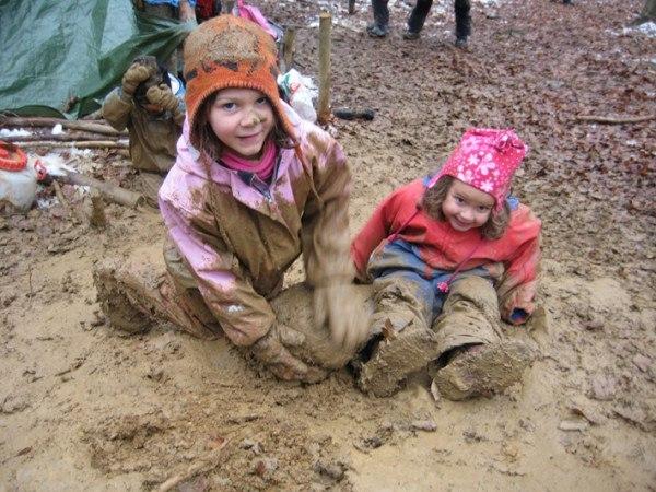 Waldkindergarten - лесные детские сады, популярные в Германии