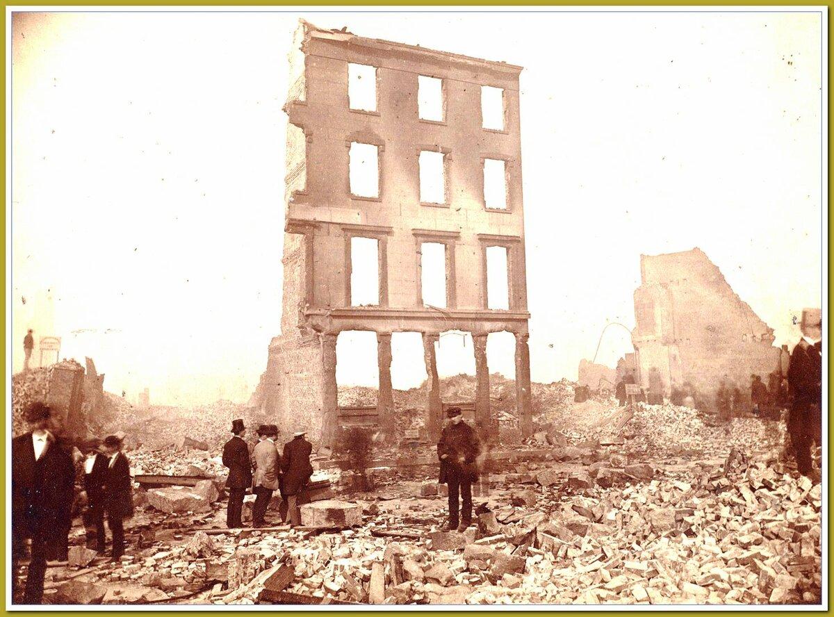 Источник Яндекс.картинки. Бостон. После пожара.