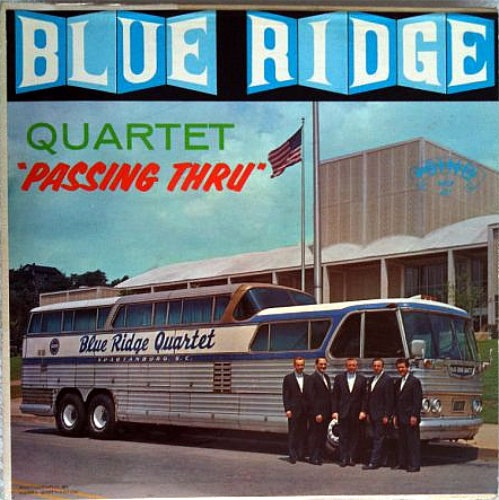 Blueridge quartet bus
