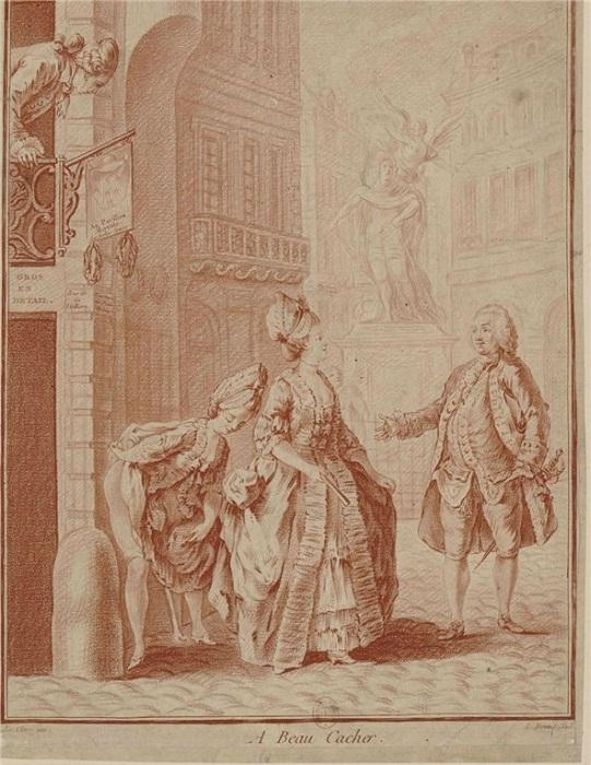 Все, кто находился в королевских дворцах, справляли нужду где попало, не таясь.   Фото: sweta-bel.livejournal.com.