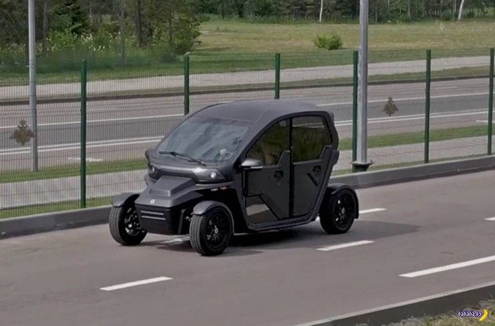 Электромобиль Калашников авто и мото,автомобили,НОВОСТИ,Россия