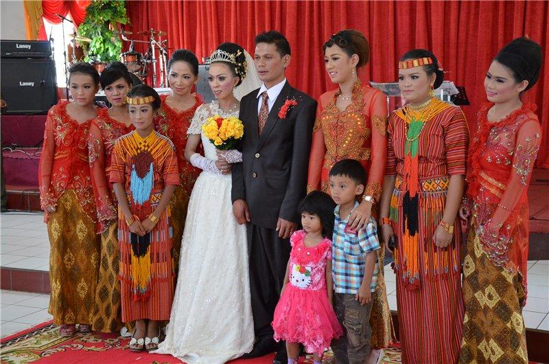 Папуасско-индонезийская свадьба. Западное Папуа