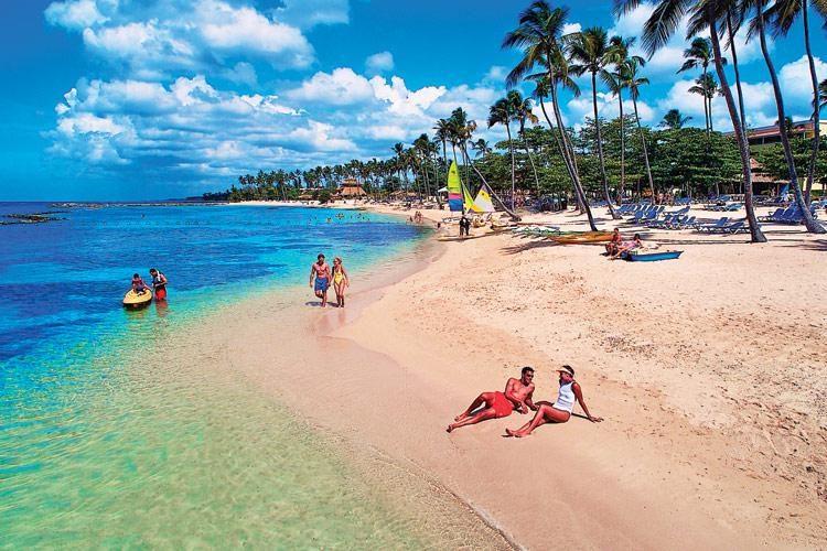 доминикана фото пляжей туристов любую
