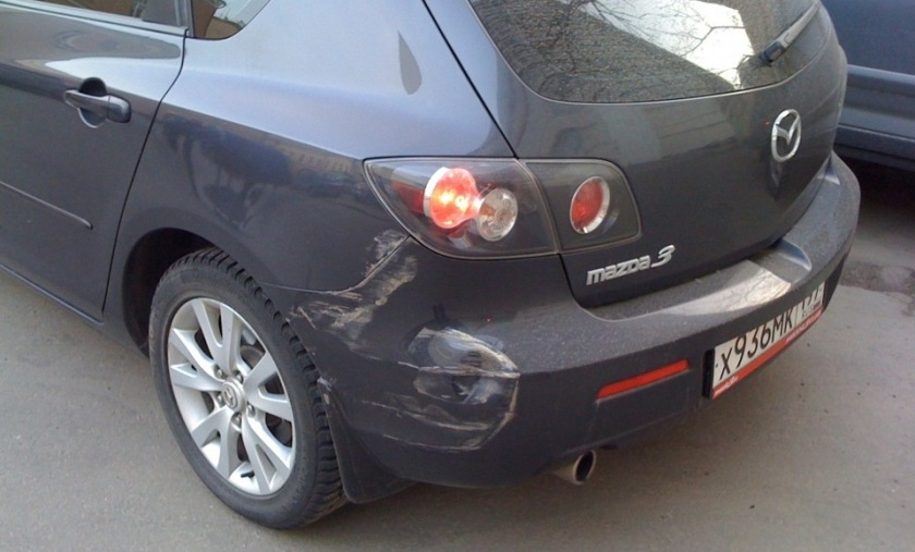 Советы ДПСника! Что делать, если авто ударили во дворе и скрылись? авто и мото,штрафы и дтп