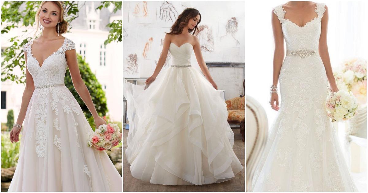 30+ платьев, для самого счастливого и идеального дня