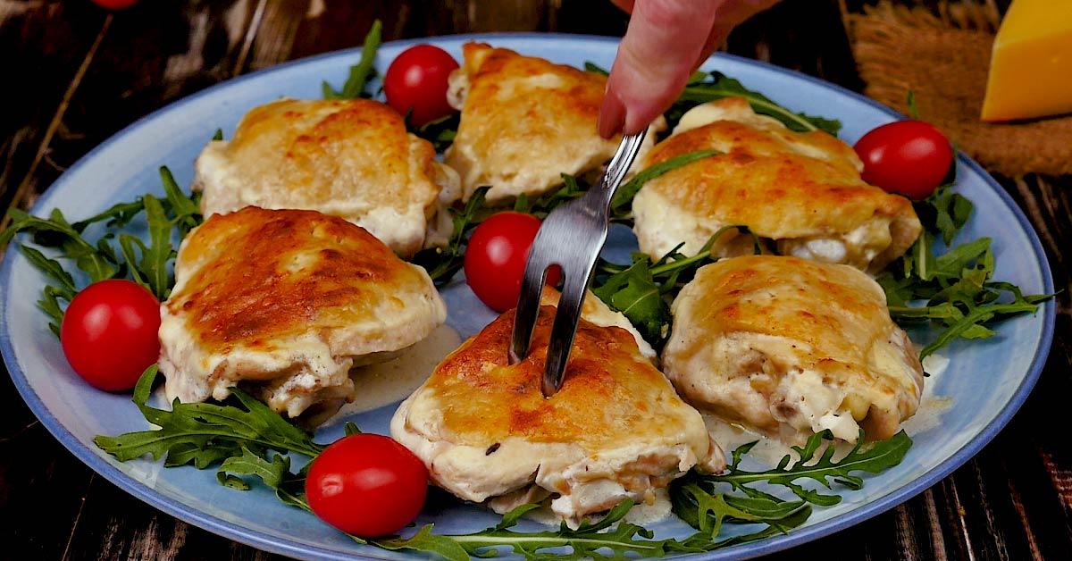 Курица в сырном соусе блюда из курицы,мясные блюда