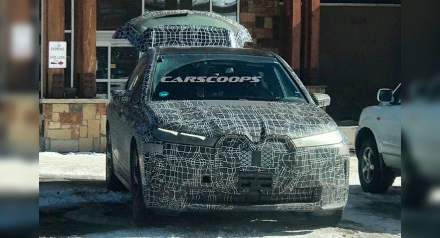 Новый электрический кроссовер BMW iX замечен в Колорадо Автомобили