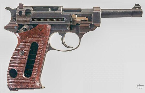 Самозарядный  Walther P38