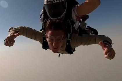 Павел Воля прыгнул с парашютом и переоценил жизнь Интернет и СМИ