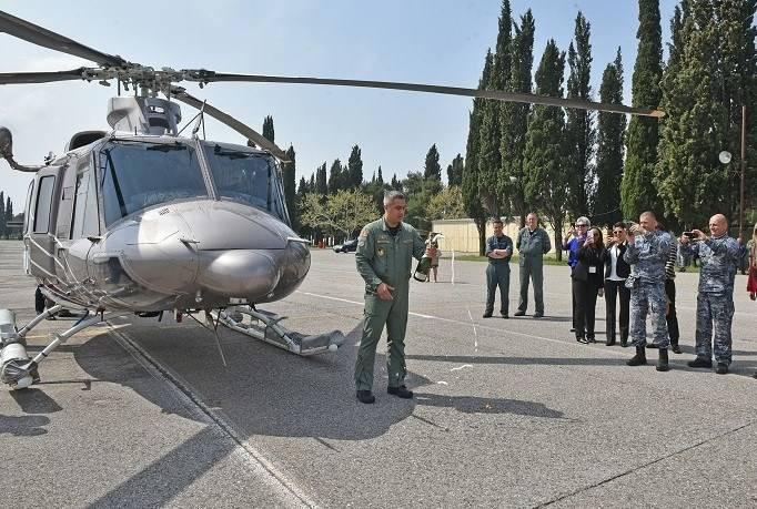 Черногория получила первый вертолет Bell 412