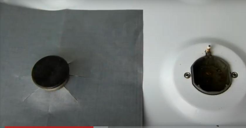 Зачем многие накрывают газовые плиты фольгой полезные советы,уборка