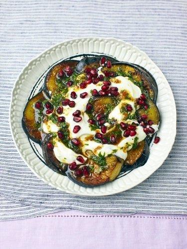 Как приготовить салат с баклажанами — Рецепты Джейми Оливера