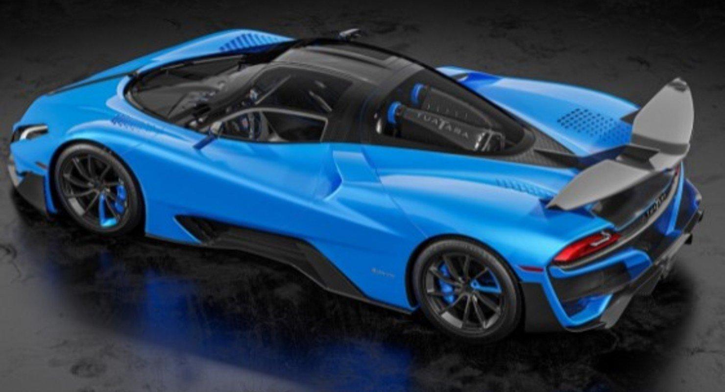 Самый быстрый автомобиль в мире SSC Tuatara выжимает 2200 л.с. Автомобили