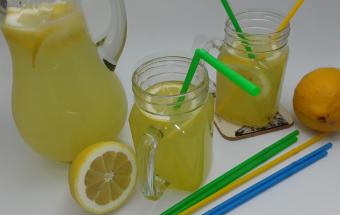 Лимонад с медом