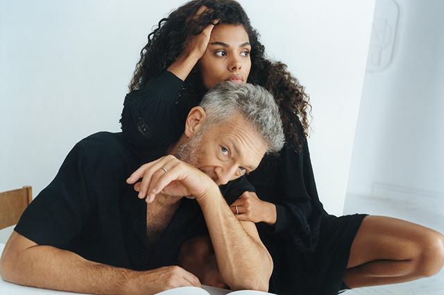 Тина Кунаки и Венсан Кассель снялись в первой совместной рекламной кампании Новости моды