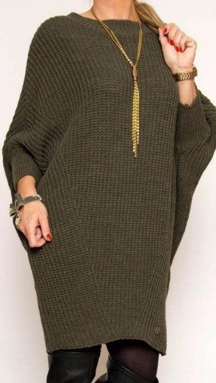 Модное платье спицами:  мастер-класс женские хобби