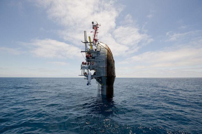 Научный корабль для изучения волн. /Фото: sea-technology.com.