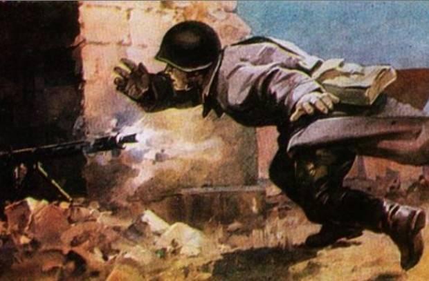 Русский воин Николай Грибано…