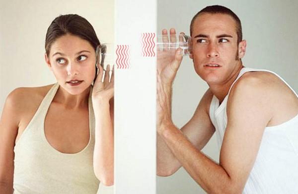 Подслушано… или как жить в квартире с тонкими стенами;))