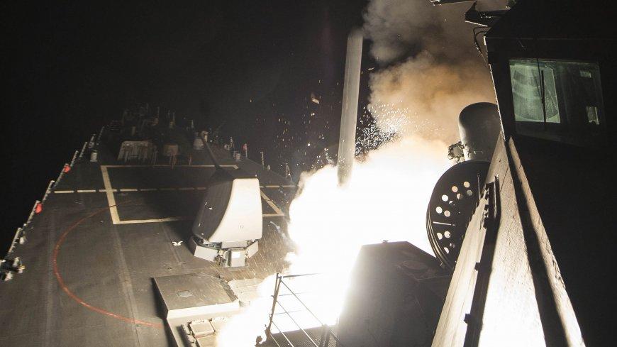 Последствия ракетного удара …