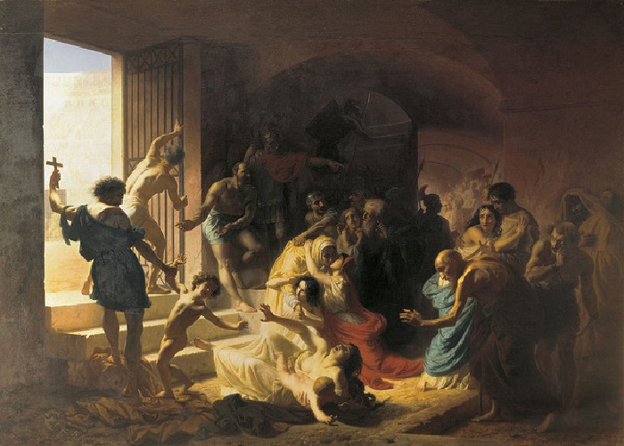 «Христианские мученики в Колизее». Автор: Константин Флавицкий.