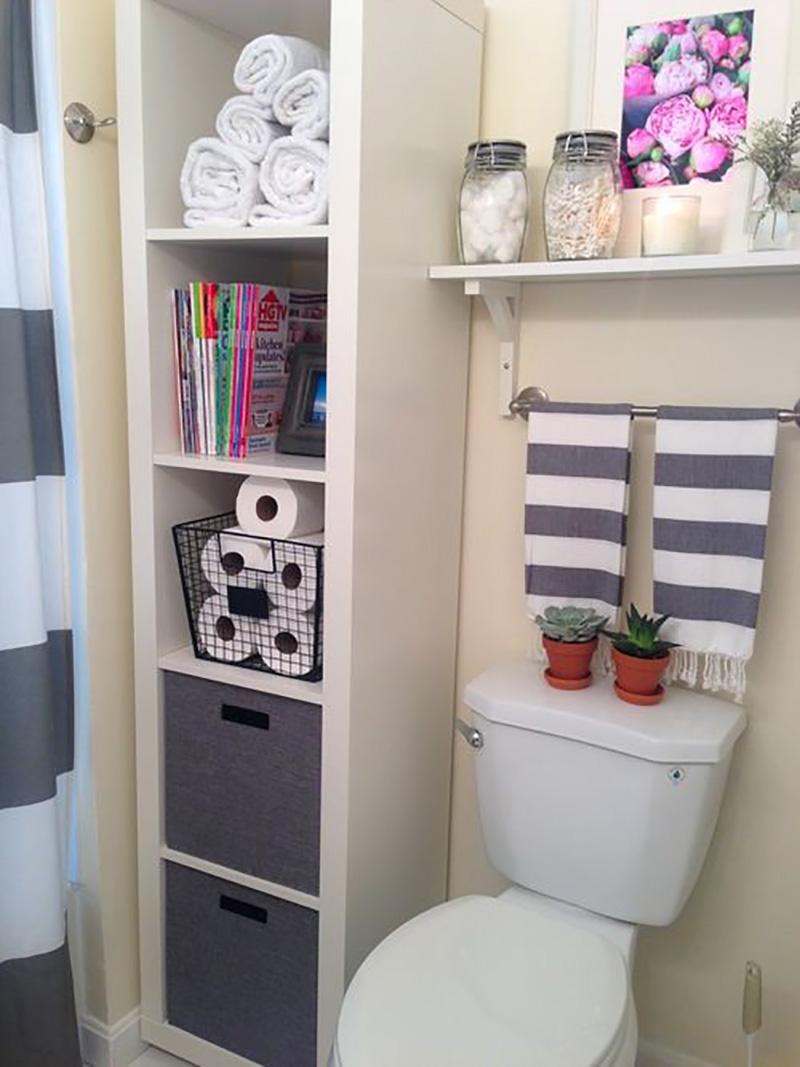 Идеи, которые можно использовать, когда места в ванной не хватает 5