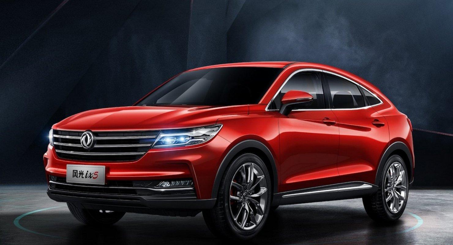 В линейке FAW появится кросс-купе: оптика в стиле Cadillac и Mazda CX-4 в конкурентах Автоновинки