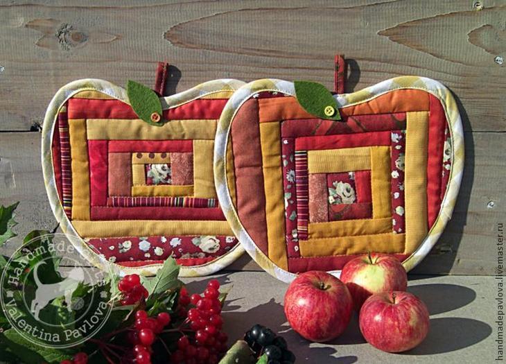 А давайте сошьём яблочки, хотите?