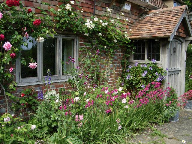 Английский коттеджный сад