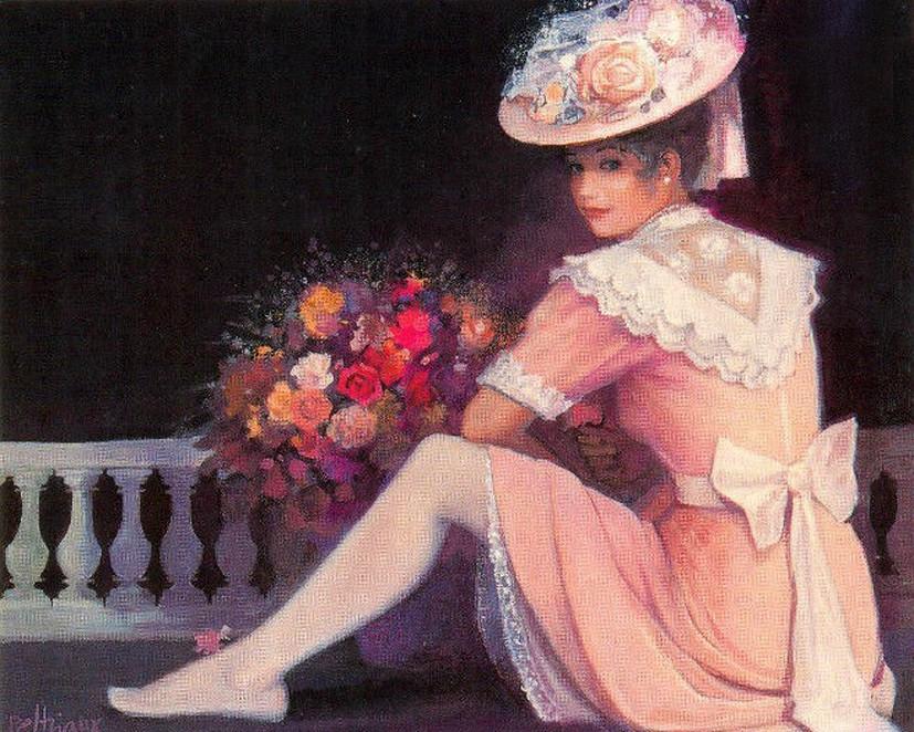 Бернар Пелтрио и его потрясающие картины