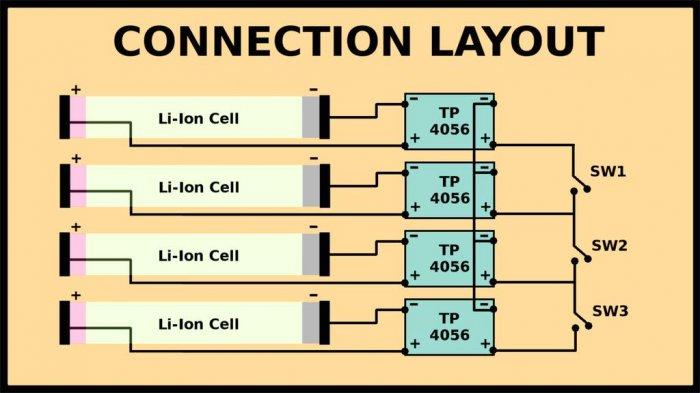 Зарядное устройство для литий ионных аккумуляторов