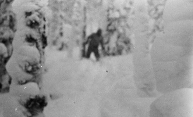 Жуткая находка криптозоологов: снежный человек попал на фотоловушку доказательства,зоологи,йети,охотники,Пространство,снежный человек