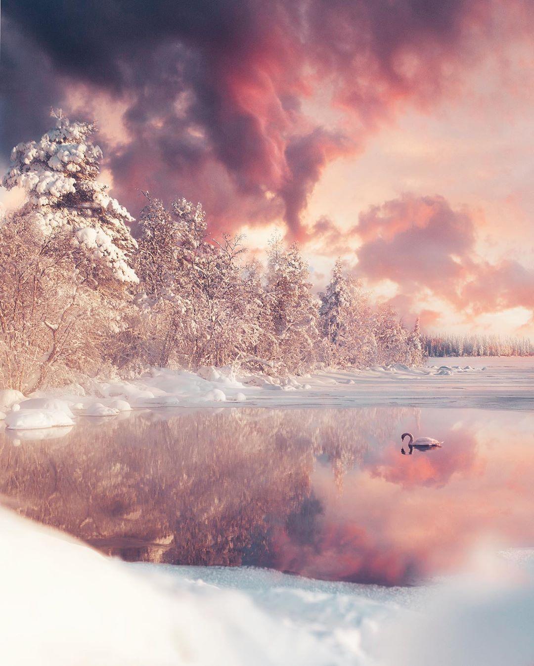 Магические северные пейзажи Юусо Хямяляйнена