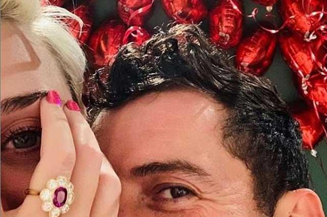 Орландо Блум и Кэти Перри помолвлены звездные пары