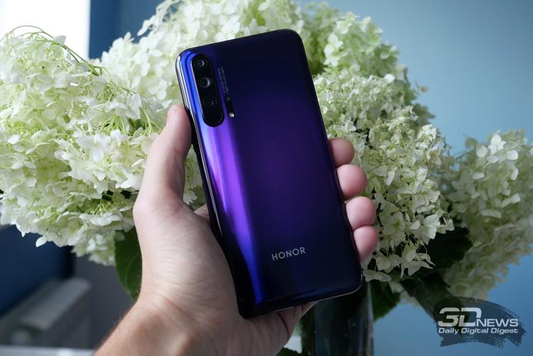 Выход смартфонов Honor 30 Series ожидается в апреле