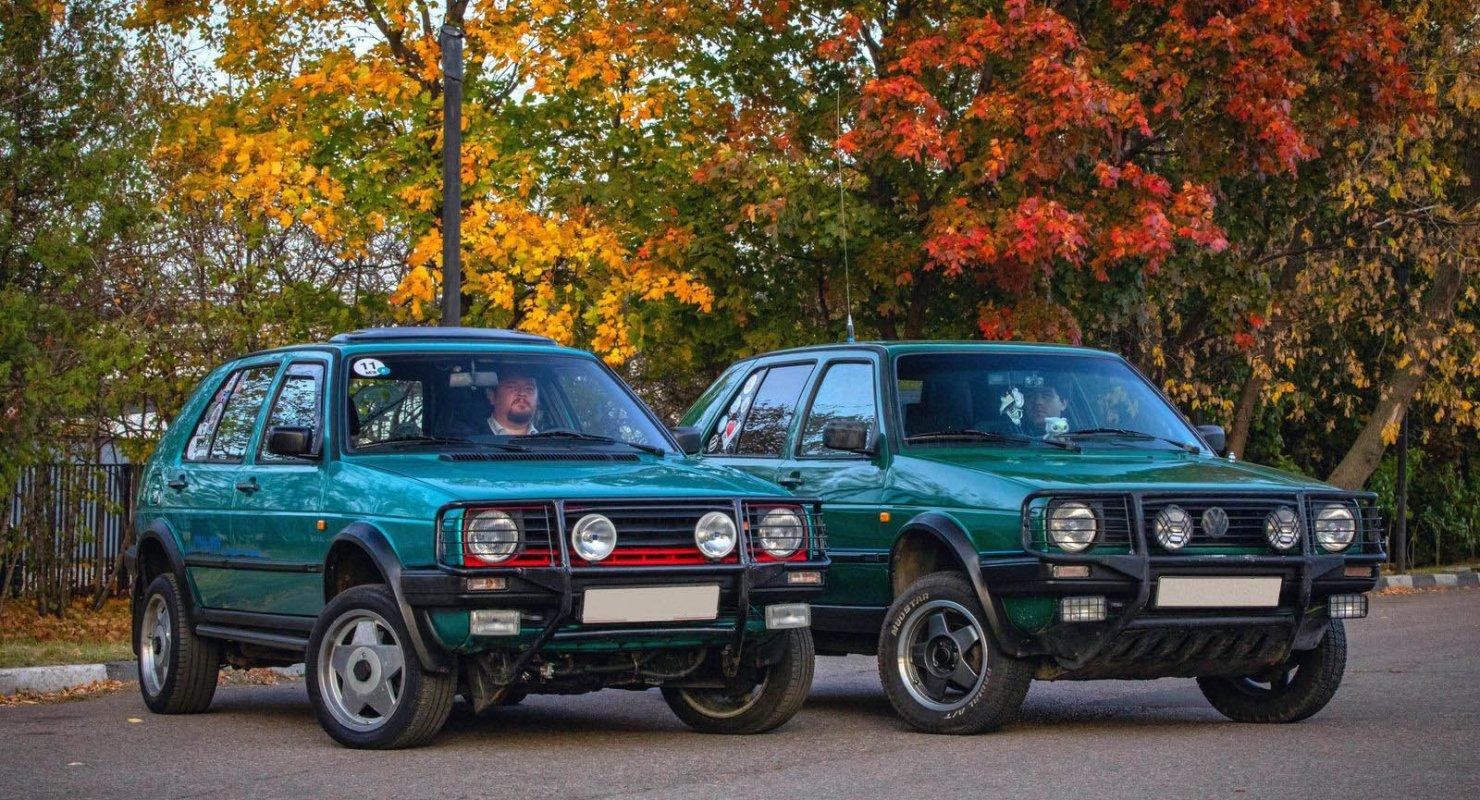 Неповторимый оригинал и жалкая пародия: тюнинг Volkswagen Golf Country Автомобили