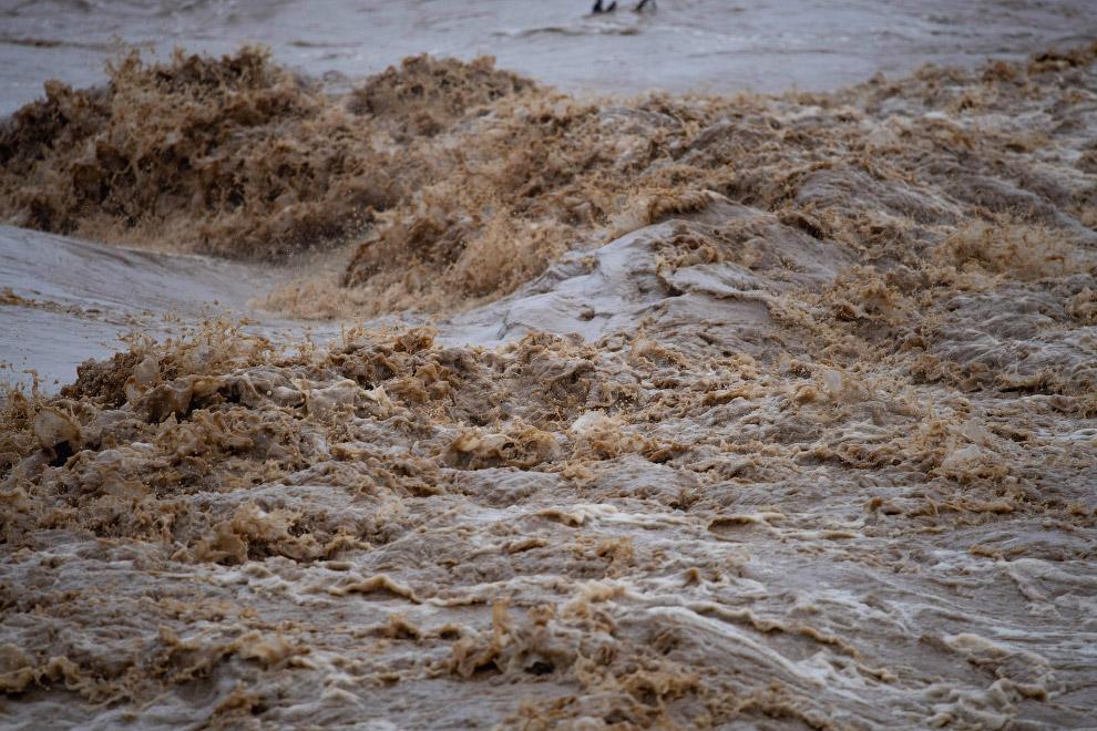 Мощный ураган «Глория» в Испании