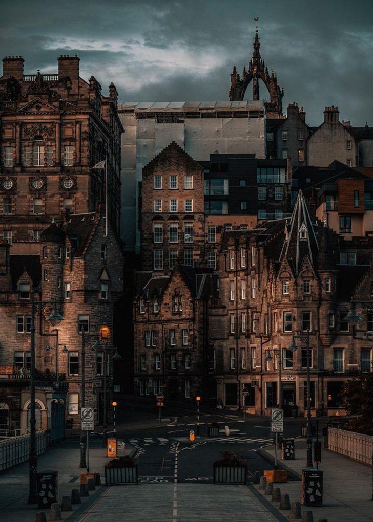 10 баллов Гриффиндору! Ой... то есть Эдинбургу! Великобритания,Шотландия,Эдинбург