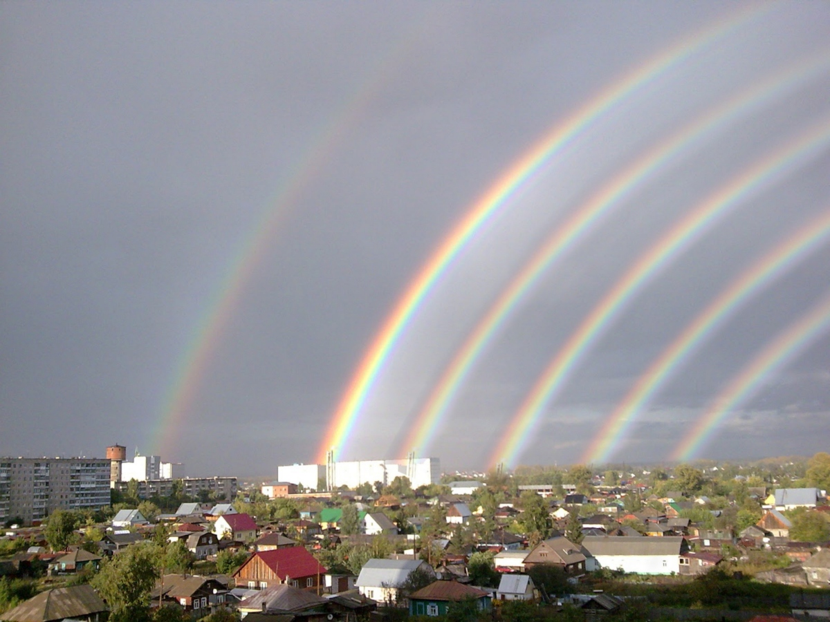 знаю, три радуги фото что козероги