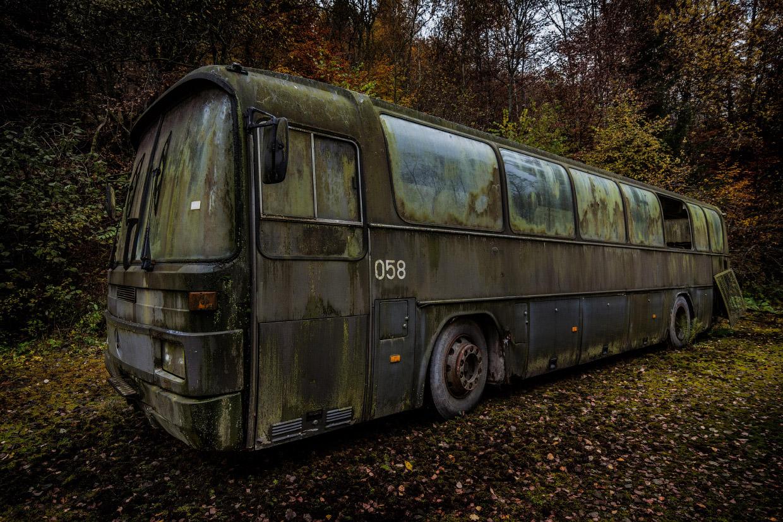 Путешествие по местам заброшенных автомобилей