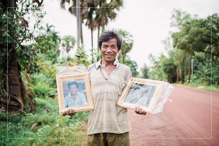 Портреты - для жителей Камбоджи: Проект, благодаря которому многие получили своё первое фото