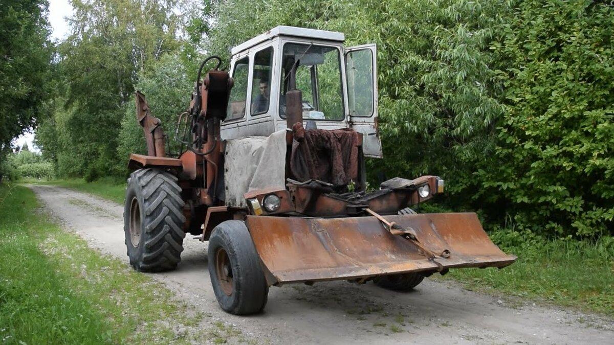 Трактор кирюша фото форма носа