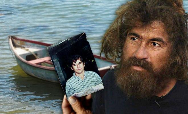 Лодку рыбака вынесло в море и он дрейфовал 438 дней
