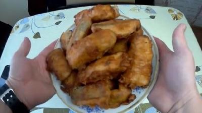 Быстрые, рыбные пирожки, просто и очень вкусно
