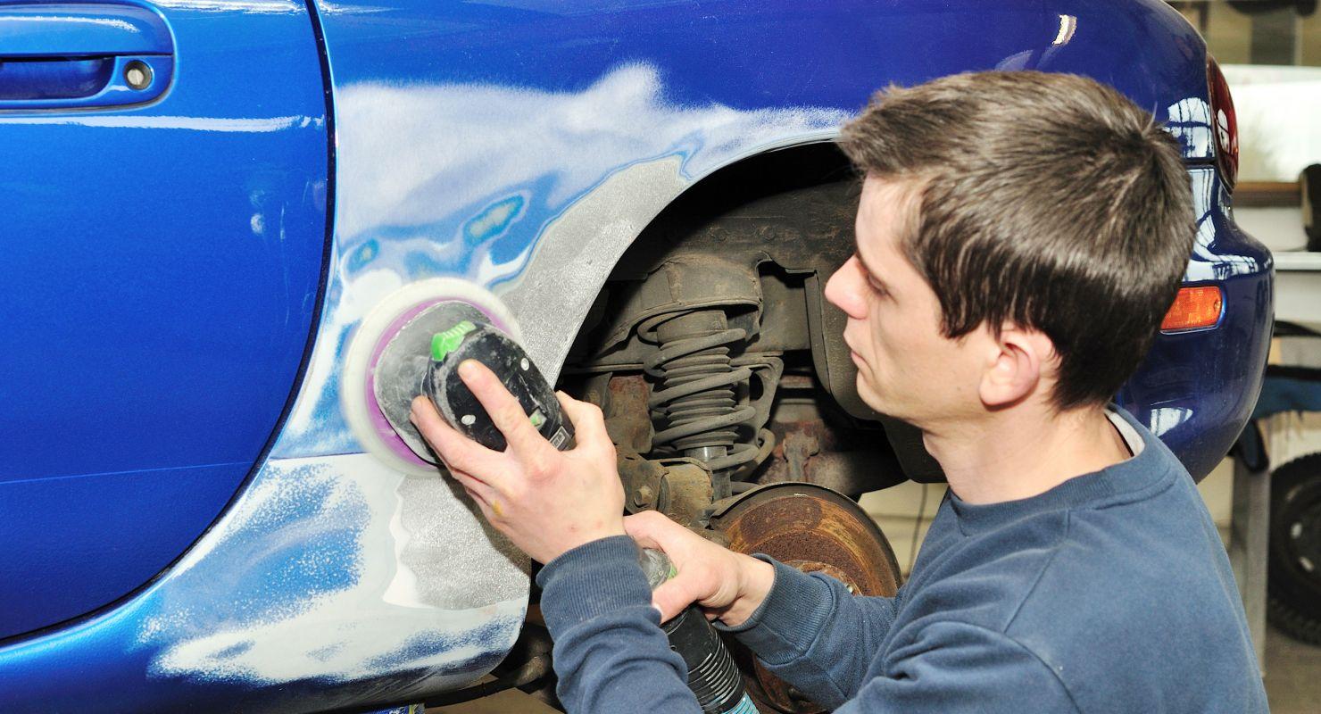 Как проводить шпаклевку кузова автомобиля Автомобили