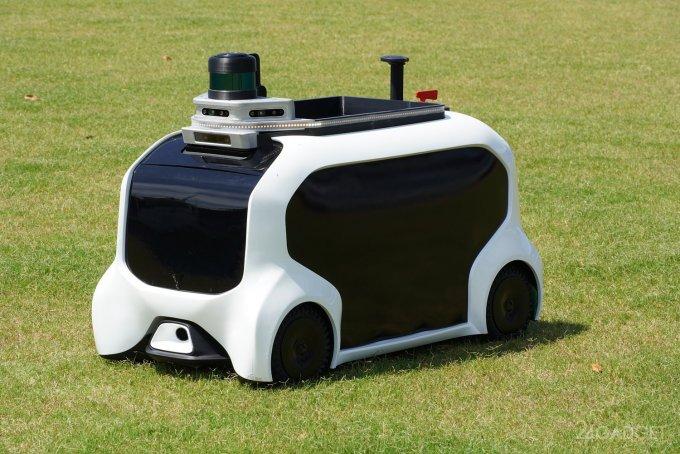Олимпийские игры 2020 будут обслуживать роботы от Toyota гаджеты,роботы