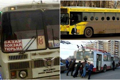 Курьезы общественного транспорта со всех уголков мира люди,маршрутки,транспорт,фрики,юмор и курьезы